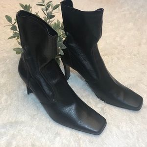 Nine West Brown Ankle Boots